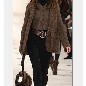 Ralph Lauren collection brown EUC  belt. Medium